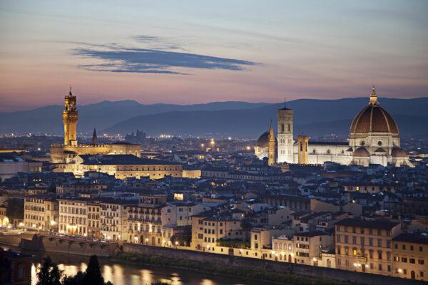 Ночная Флоренция (фото)