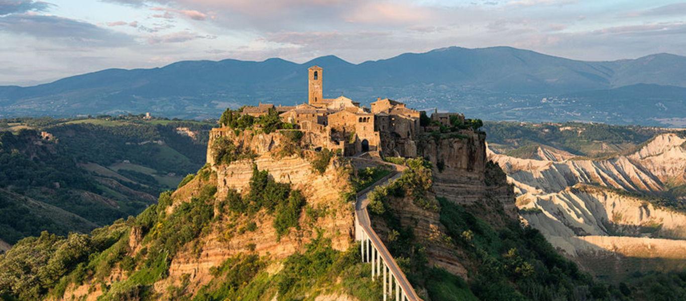 Чивита ди Баньореджо и Орвието