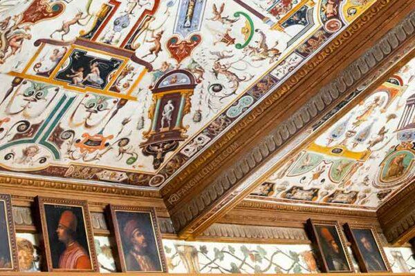 Фото галереи Уффици во Флоренции