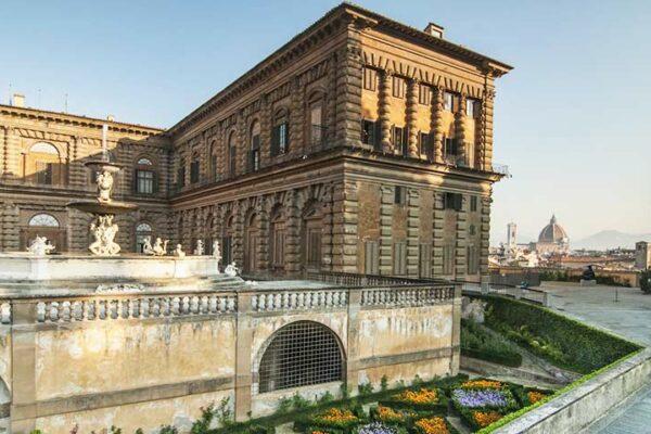 Фото палаццо Питти во Флоренции